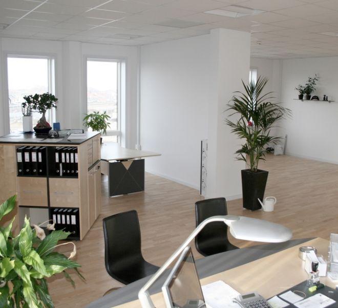 kontor leje