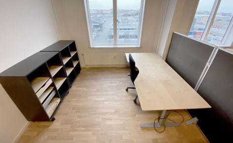 KATTEGAT SILO – KATTEGAT Kontorhotel – Open Office – 10 m²