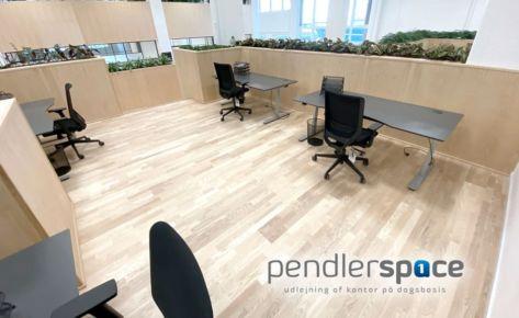 Pendlerspace – KATTEGAT SILO – MAGASINET Kontorhotel